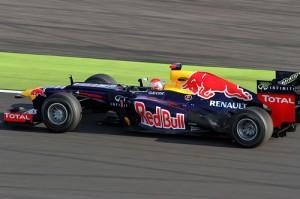 A Forma1 második futamának győztese: Vettel